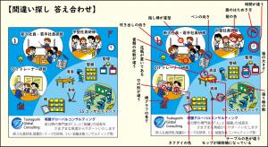 塚腰運送カレンダー2020年6月間違い探し解答