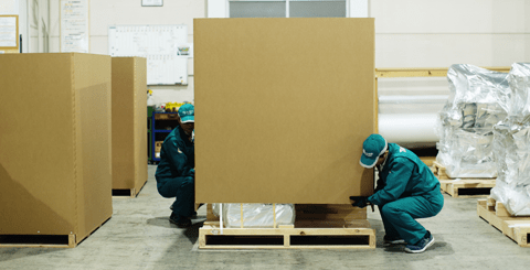 Reinforced Carton Boxes Packing